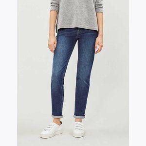 THE WHITE COMPANY Brompton Boyfriend Jeans 32W/14